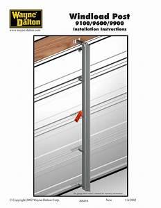Wayne Dalton Garage Door Openers Manual