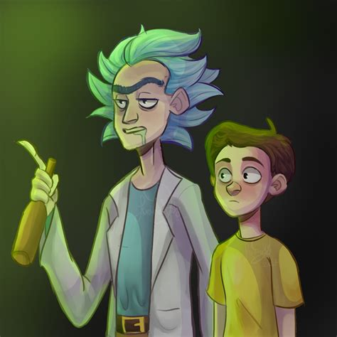 rick and morty fans rick and morty by raposaboba on deviantart