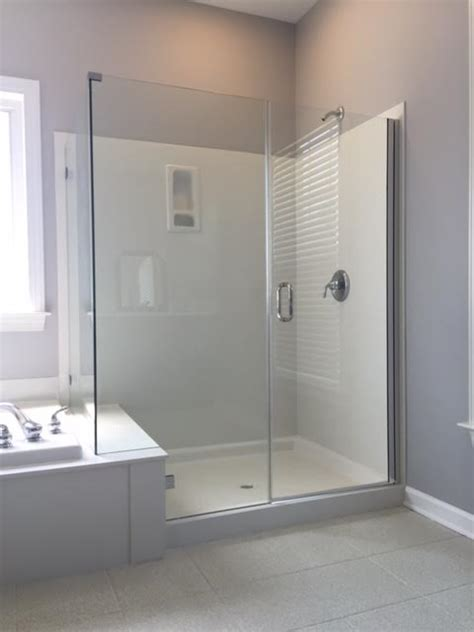 Fiberglass Shower Door by If You Cultured Marble Or Fiberglass On Your Shower