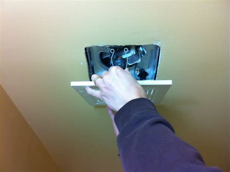 installing a bathroom exhaust fan without attic best