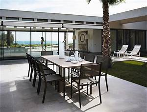 table costa extensible fer forge d39exterieur alu fermob With ordinary mobilier de jardin fermob 8 mobilier exterieur fer forge