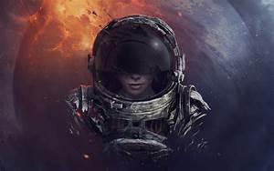 Women in Space Wallpaper for Widescreen Desktop PC ...