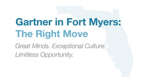 Gartner Careers - Working in Fort Myers, Florida