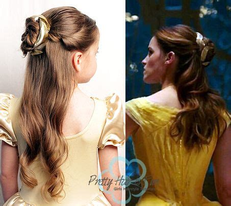 pretty hair  fun belle emma watson ballroom