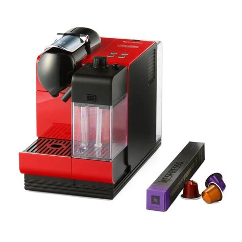 Buy Nespresso Machine Delonghi Lattissima Plus - Red ...