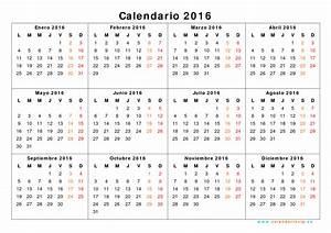 Calendario 2016 Para Imprimir Gratis Calendar Template 2018
