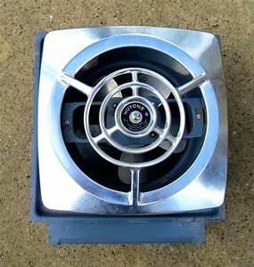 Vintage Bathroom Exhaust Fan With Light