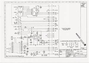 Everything About Codan  Codan X2  9105  Front Panel Schematic