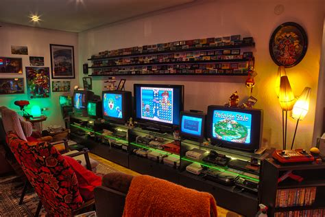 My Game Room And Collection 2014 Retro Video Gaming