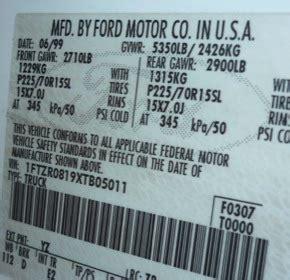 games vehicle serial numbers