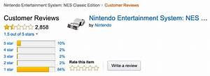 Upset Nintendo fans are spamming the NES Classic's Amazon page
