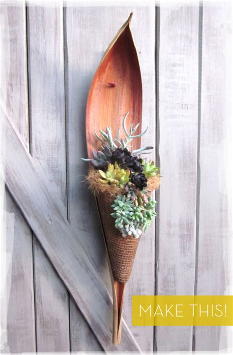 how to make an all hanging succulent garden curbly