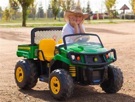 More Kids Farm Fun Peg Perego John Deere Gator 550 Xuv