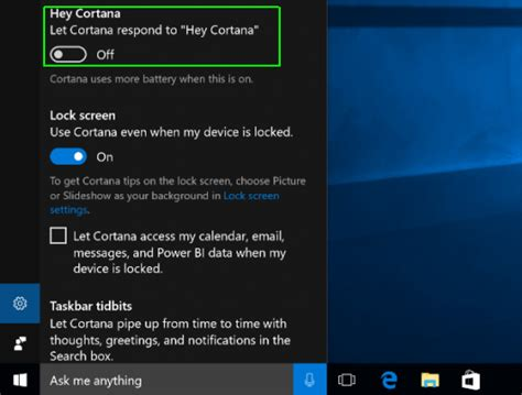 how to add or remove cortana from the windows 10 lock screen