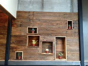 Simple barn wood for walls have wonderful old wall