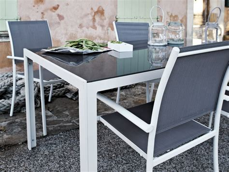 Table De Jardin Aluminium Avec Rallonge Leroy Merlin by Comment Choisir Son Mobilier De Jardin Habitatpresto