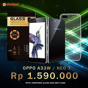 Jual Beli Oppo Neo 7 Oppo A33w Tempered Glass Oppo Neo