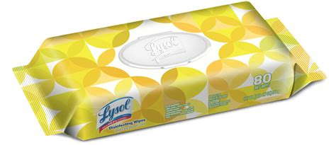 LYSOL® ADVANCED™ Disinfecting Wipes - Citrus (Canada)