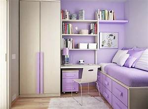 licious purple accents wall paint for teenage girl bedroom With bedroom design for girls purple