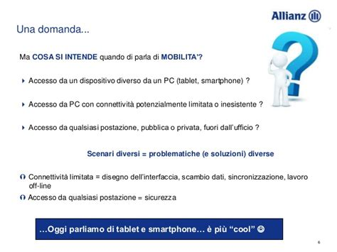 mobile cloud e social media allianz