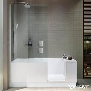 Badewanne Mit Duschzone : duravit shower bath badewannne mit duschzone eckeinbau ~ A.2002-acura-tl-radio.info Haus und Dekorationen