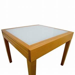 Design Within Reach : 87 off design within reach design within reach spanna extending pine wood and glass dining ~ Watch28wear.com Haus und Dekorationen