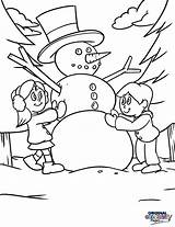 Winter Coloring Snowman Forget Bring Below Never Season Some sketch template