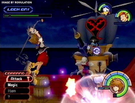 kingdom hearts usa ps sony playstation  iso