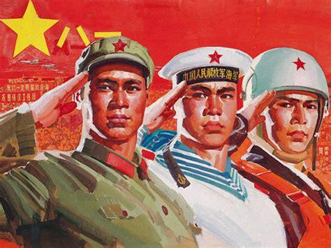 chinese pla propaganda posternorth korean propaganda