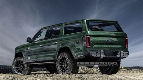 Report Says Ford Bronco Will Have 4 Doors, 325 Hp, ,000