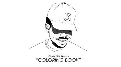 Book Chance The Rapper Album Cover Coloring Pages