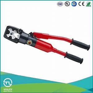 China Utl Manual Hydraulic Cable Lug Pex Crimping Tool