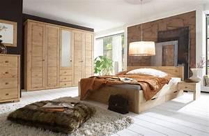 Schlafzimmer Massivholz Landhausstil : luwo schlafzimmer set rauna xl kiefer m bel letz ihr online shop ~ Markanthonyermac.com Haus und Dekorationen