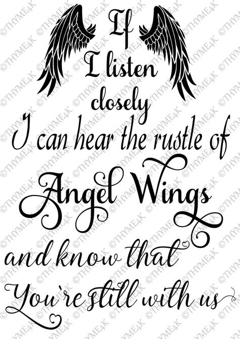 "Digital Design ""If I listen closely...Angel Wings"