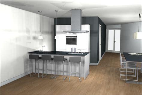 Keuken Ontwerpen Met Kookeiland by 3d Tekening Eiland Keuken Nieuwe Keuken