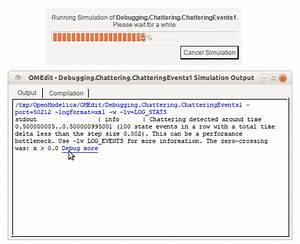 Debugging  U2014 Openmodelica User U0026 39 S Guide V1 16 0