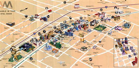 las vegas map travelsfinderscom