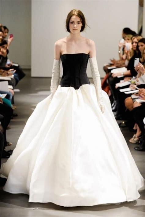 vera wang black  white ball gown vera wang