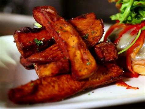 roasted sweet potato recipe roasted sweet potato wedges recipe food network
