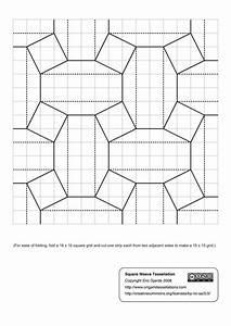 Crease Fold Tessellation Diagrams