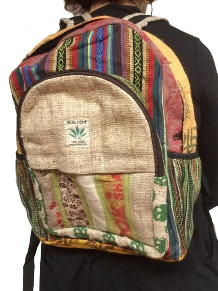 hippie boho backpacks slash costs buy  source nepal