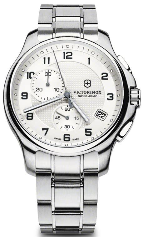swiss army krono graph stopwatch 39 s victorinox swiss army officers chronograph 241554