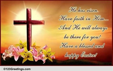 blessed  happy easter  happy easter ecards