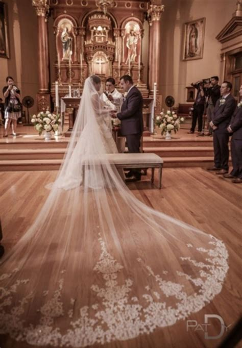 25 Best Ideas About Cathedral Veils On Pinterest