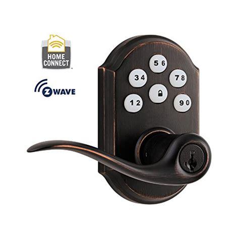 z wave door lock z wave kwikset smartcode 912 z wave lever smart lock