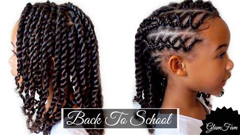 braided childrens hairstyle   school hairstyles