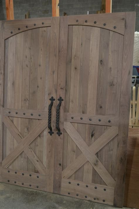 barnwood kitchen island made rustic barn style doors by corey wood
