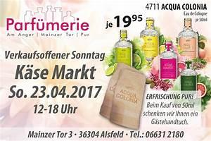 Mainz Verkaufsoffener Sonntag : alsfelder k semarkt mit verkaufsoffenem sonntag am 23 april 2017 ~ Buech-reservation.com Haus und Dekorationen