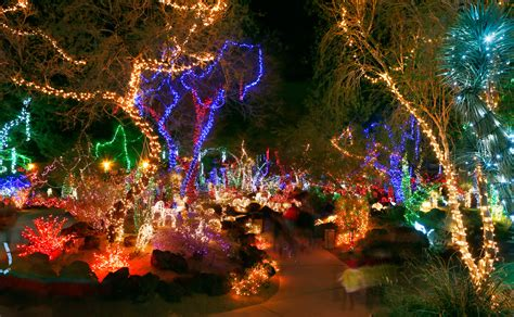 2015 holiday light displays around las vegas classic las