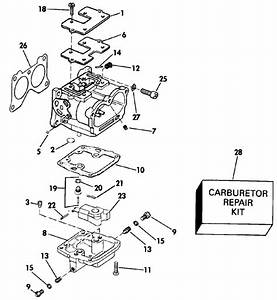 Johnson Carburetor Parts For 1990 90hp Vj90mlesb Outboard